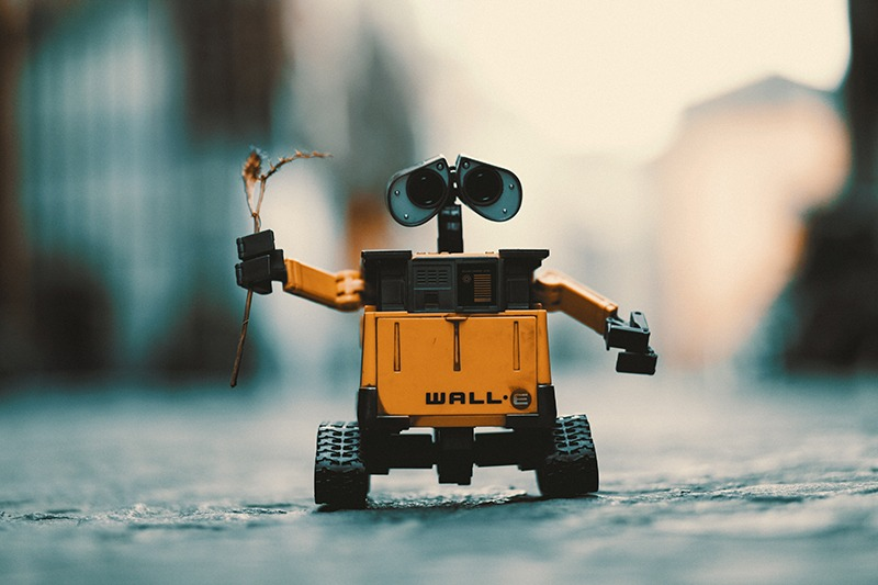Robot WALLE as a metaphor for your ego, your friend